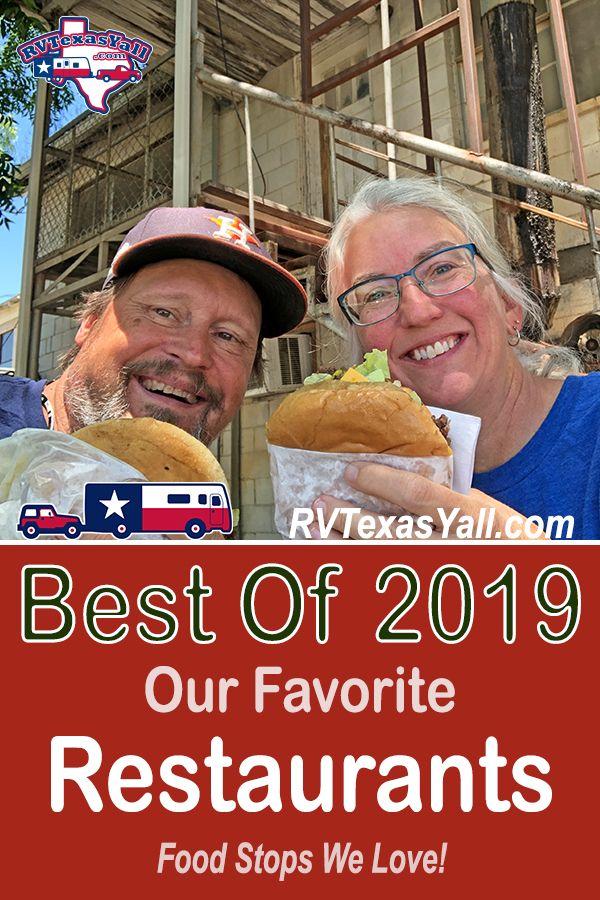 Best Restaurants of 2019 | RVTexasYall.com