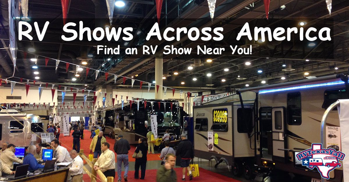 Rv Shows In The Usa Beyondtx
