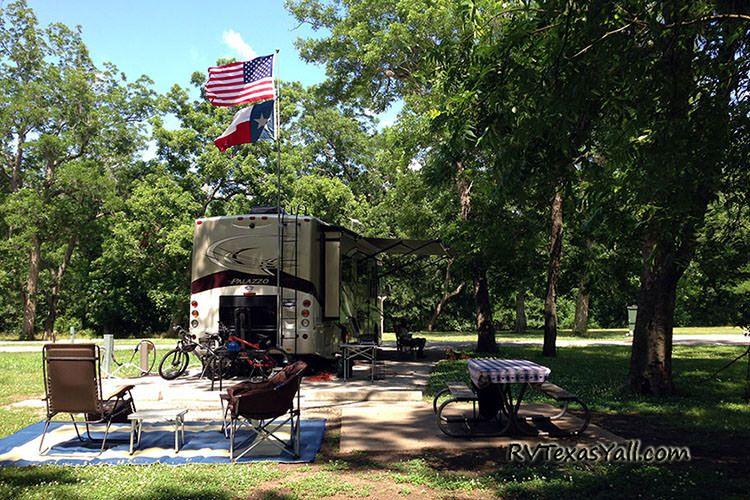 RV Campsite in Texas
