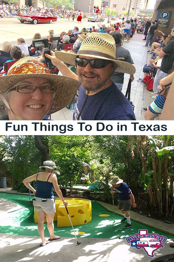 Fun things to do in Texas