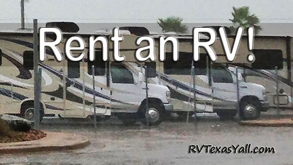 Rent an RV in Texas