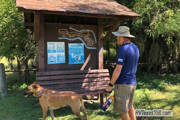 Hiking Information Board