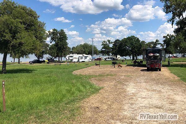 Our Campsite at Rocky Creek Park