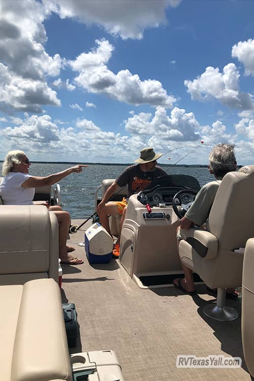 Boating With Ronnie and Shirley