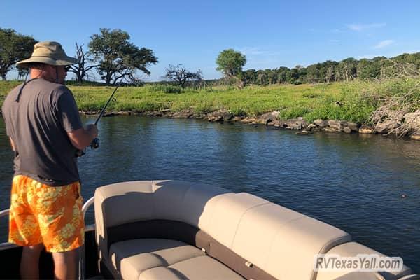 Fishing Lake Somerville