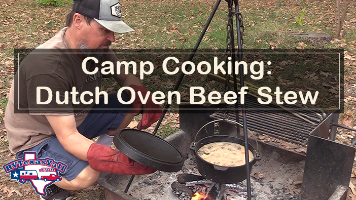 Camp Cooking: Dutch Oven Beef Stew