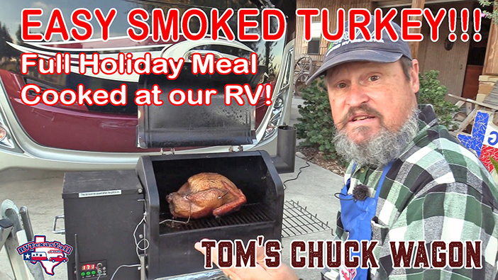 Super Simple Smoked Turkey Holiday Meal