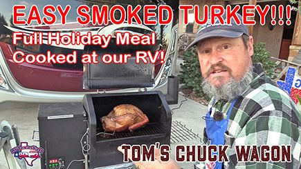 Easy Smoked Turkey Holiday Meal