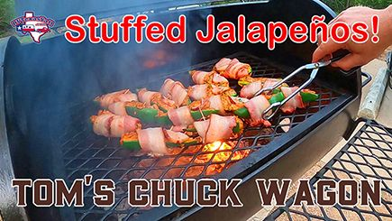 Stuffed Jalapenos and Buttermilk Ranch Dressing