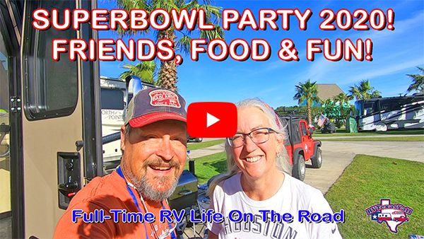 RV Super Bowl Party