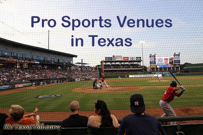 Pro Sports Venues In Texas Rvtexasyall Com
