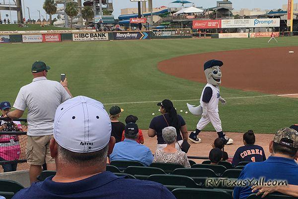 Corpus Christi Hooks Mascot