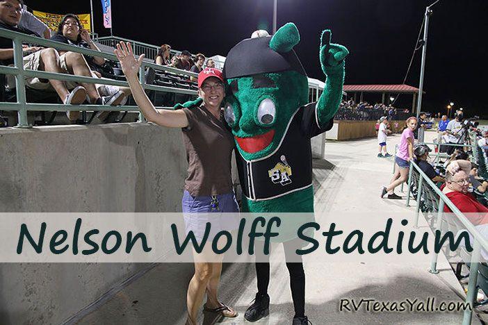 Wolff Stadium Minor League Ballpark San Antonio Tx