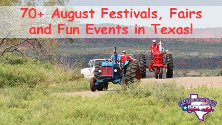 August 2017 Festivals in Texas