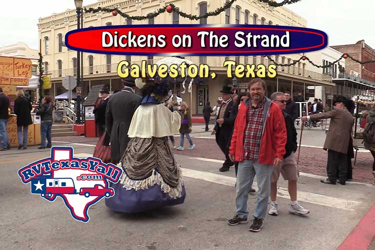 Dickens On The Strand Galveston Tx Rvtexasyall Com