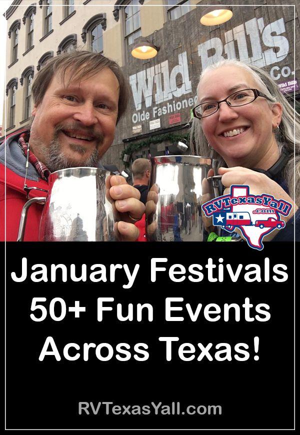 50+ January Festivals in Texas | RVTexasYall.com