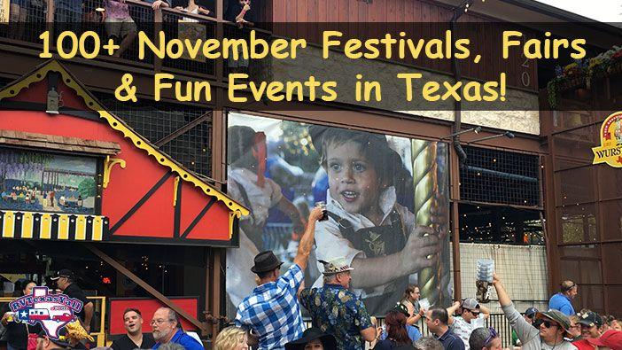 November Festivals in Texas