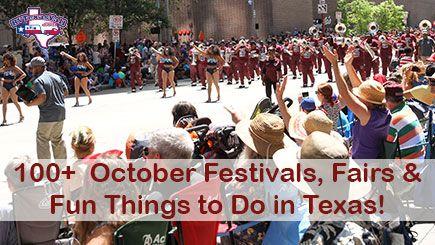 October 2017 Festivals in Texas