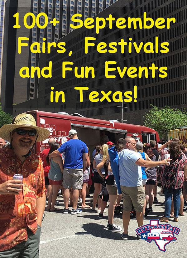 September Festivals And Fun Events In Texas Rvtexasyall Com