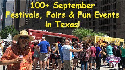 September 2017 Festivals in Texas
