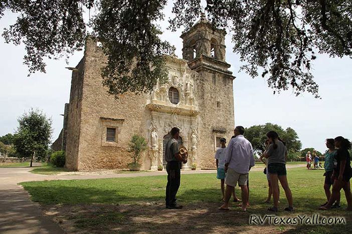 Ranger Tour at San Antonio Missions NHP
