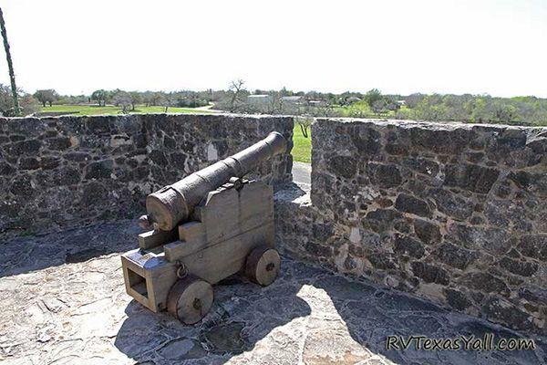 1830s Cannon at La Bahia