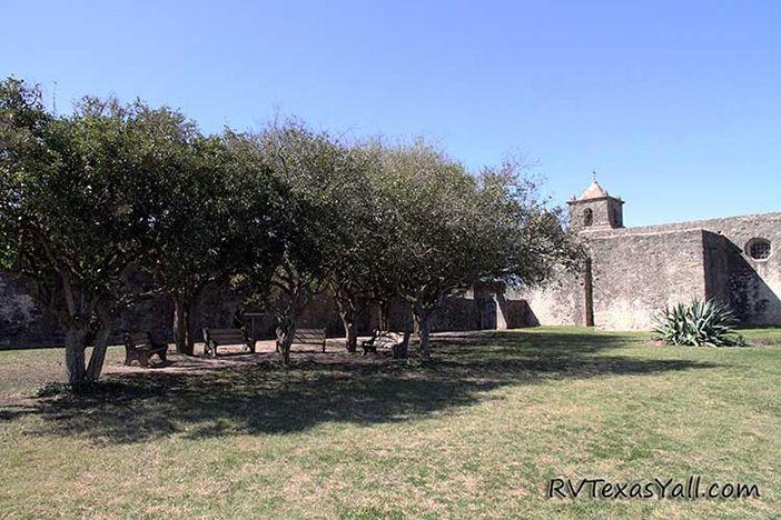 Inside Presidio La Bahia