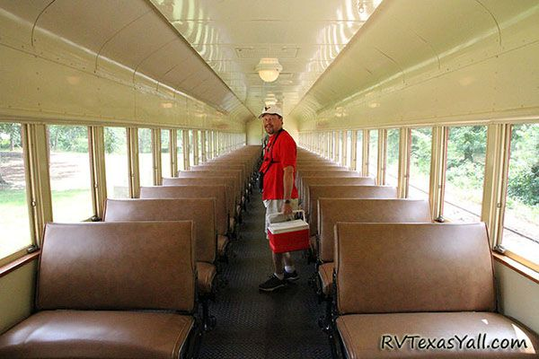 enclosed passenger car