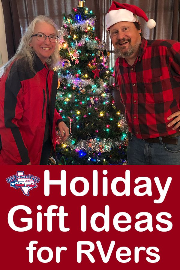 Holiday Gift Ideas for RVers | RVTexasYall.com offers a few gift suggestions for the RVer on your holiday shopping list!