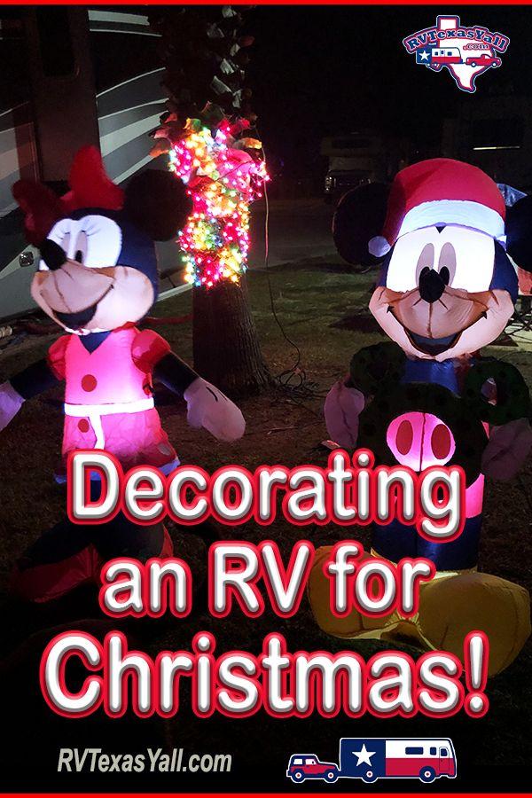 Decorating Our RV for Christmas | RVTexasYall.com