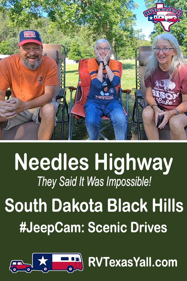 Needles Highway, South Dakota | RVTexasYall.com | They said it was impossible to build! Join us as we drive the incredible and historic Needles Highway in the Black Hills of South Dakota!