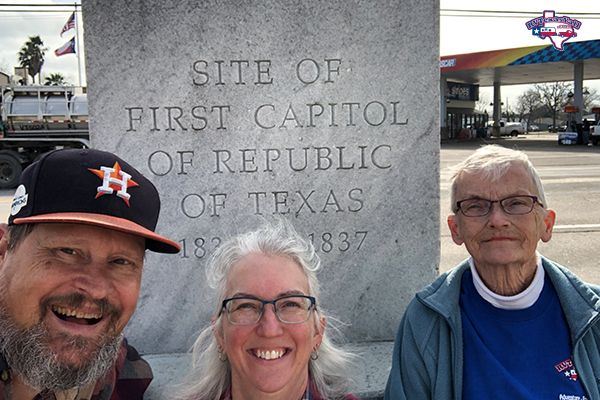 First Capitol of Texas Marker