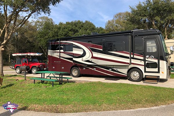 Our Site at First Capitol RV Park