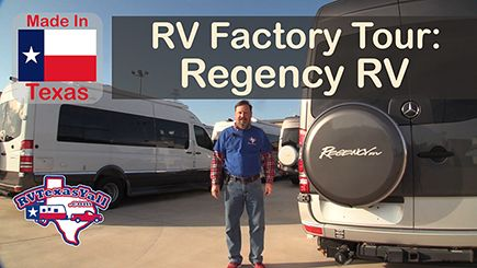 Regency RV Factory Tour