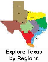 Explore Texas By Regions