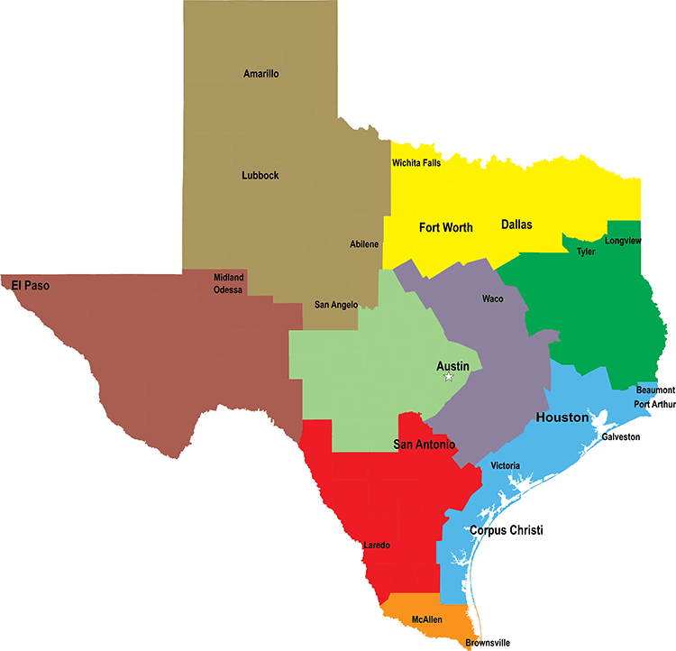 Find A Texas RV Dealer In Another Region