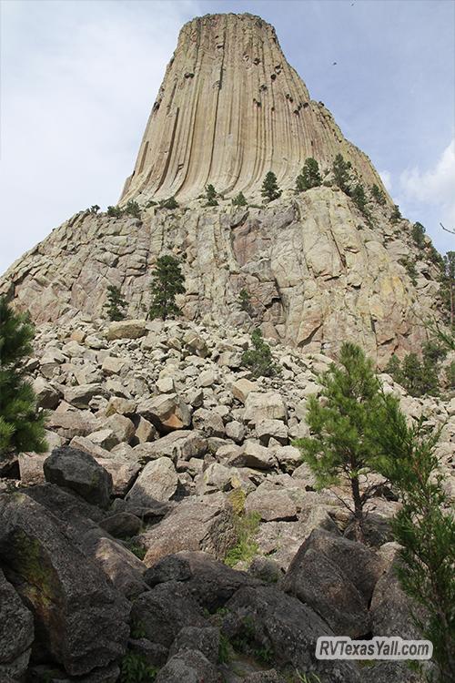 Devils Tower Rock Field