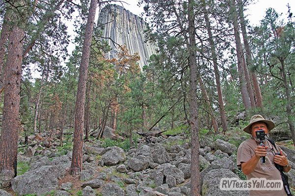 Filming Devils Tower