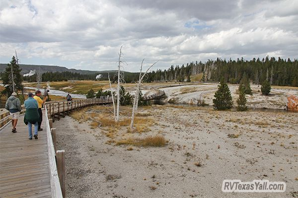 Upper Geyser Basin Boardwalk