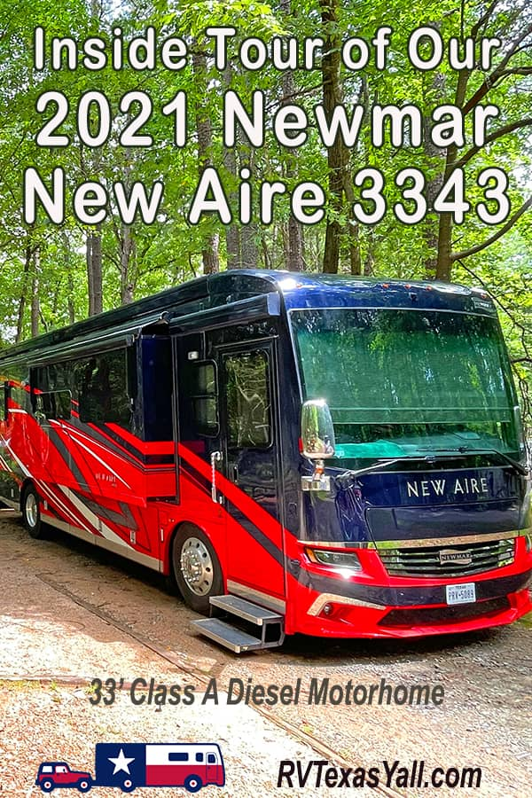 Inside Our 2021 Newmar New Aire 3343   RV Texas Y'all