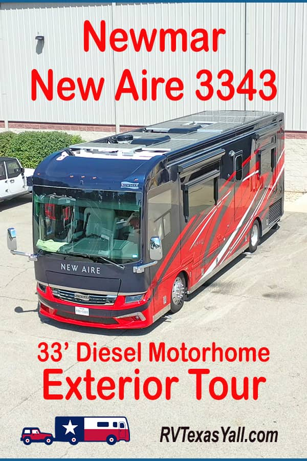 Exterior Tour Of Our 2021 Newmar New Aire 3343 | RV Texas Y'all