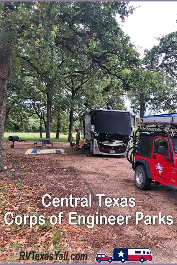 Central Texas Corps of Engineer Parks   RVTexasYall.com