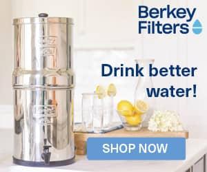 Berkey Water Purifier Ad