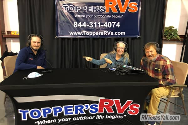 Recording at Toppers RVs