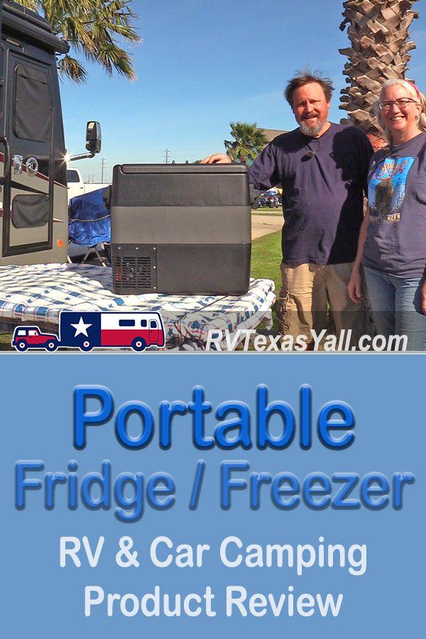 JoyTutus Portable Freezer Refrigerator| RVTexasYall.com