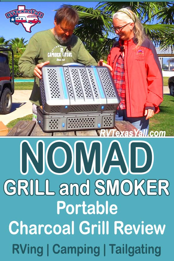 NOMAD Grill and Smoker Review   RVTexasYall.com