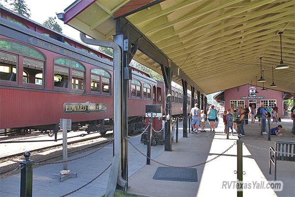 Hill City Boarding Platform