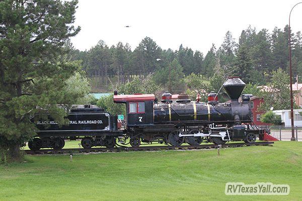 100 Year Old Locomotive