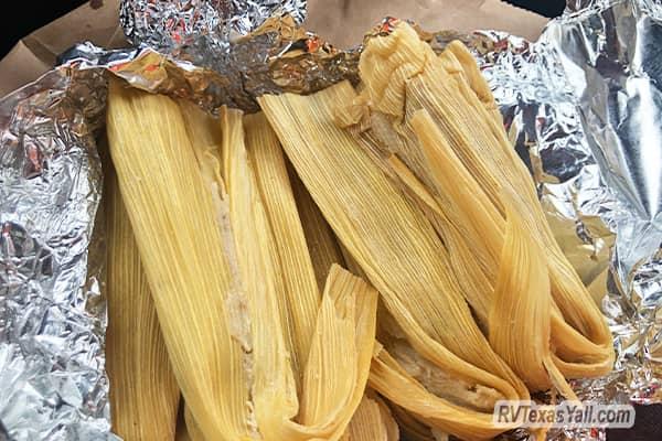 Fresh Tamales