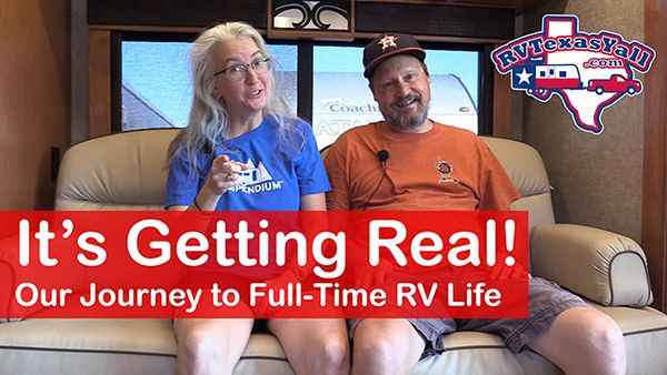 Our Journey to Full Time RV Life: Major Update!